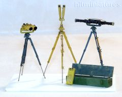 PLM388 German Field Optical Equipment WW2 Unpainted Kit in 1:32/1:35 scale by Plusmodel