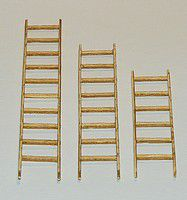 PLM401 3 x Wooden Ladders Kit in 1:32/1:35 scale by Plusmodel