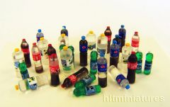 PLM446 Plastic Bottles Accessories Kit 1:32/1:35 scale by Plusmodel