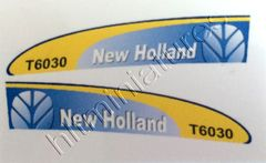New Holland T6030 Waterslide Decals/Sticker 1:32 Scale 07564