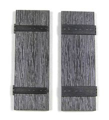2 x Packs Wood Shutters to fit Window FB410 1:32/1:35 Scale FB425