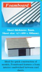 A3 Foam Board Sheets 5mm 1pc Expo 56000