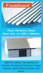 A3 Foam Board Sheets 5mm 1pc Expo 56000