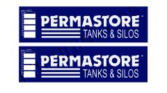 2 x Permastore Slurry Tank Decals Decals 1:32 Scale by HLT DEC17