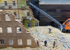 23053 Mixed Beige Brick 1:35/1:32 Scale by Juweela