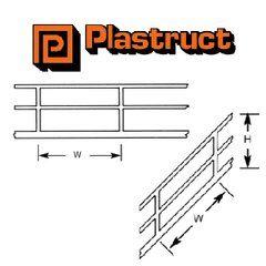 SRS-2 N Gauge Stair Rail Plastruct (2 pack) 1:200 Scale