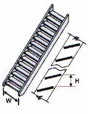 STAS-4 HO Gauge Stair Rail Plastruct (2 pack) 1:100 Scale