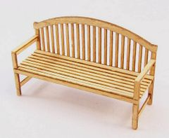 PLM427 Garden Bench/Seat Kit in 1:32/1:35 scale by Plusmodel