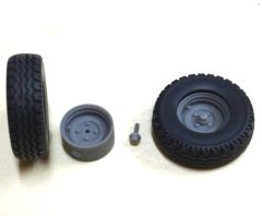 25.3x8mm Transport Wheels Kit 1:32 Scale by Artisan 32 30045/04258