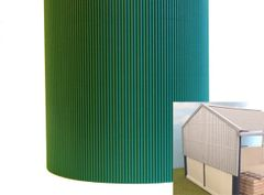 FB036C Green Corrugated Card 1:32 scale