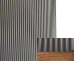 FB036E Grey Corrugated Card 1:32 scale