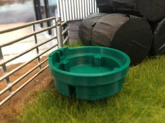 1000l Circular Water Cattle Drinking Trough 1:32 Scale by Minimaker BX3BAE10