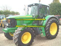 John Deere 6620 Tractor Self-adhesive Decals/Sticker 1:32 Scale Dec22