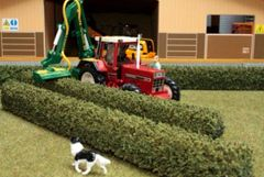 2 x Trimmed Hedges by Brushwood 1:32 scale BT2073