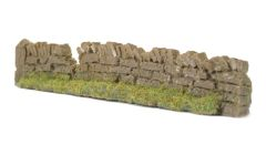1 x Light Brown Section Damaged Premier Low Roadside Dry Stone Wall Any Scale PW1LBDAM