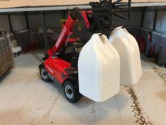 1 x Top Lift Bags/Dumpy Sacks (White) 1:32 Scale by Minimaker BX61GCBB1