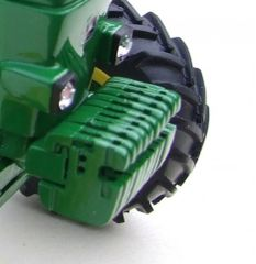 John Deere Individual Front Weights and Bracket Unpainted 1:32 Scale by Artisan 32 20759 (04413)