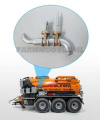 Slurry Tank/Container Double Valve Kit 1:32 Scale by Artisan 32 24280