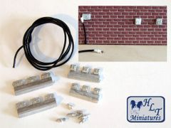 Plugs, Sockets, Switches - Workshop Electrics 1:32 scale by HLT miniatures WM068