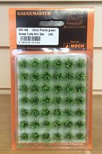 12mm Grass Tufts x 42 - Green Gaugemaster GM149