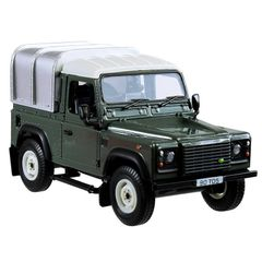 Britains Land Rover Defender 90 with Canopy - Green 1:32 scale 42732A1