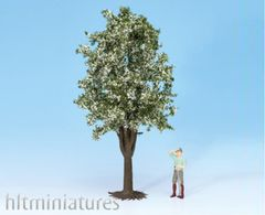 30cms White Blossom Fruit Tree 1:32/1:35 Scale Noch N68022