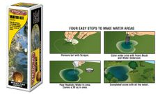*SPECIAL* Readygrass Water Kit Woodland Scenics WRG5153