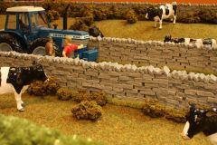 4 x Stone Walling by Brushwood 1:32 scale BT2091