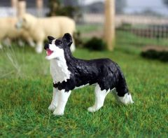 WMA16 Border Collie Standing Molly by HLT Miniatures