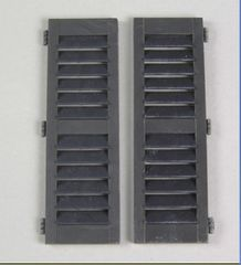2 x Packs Louvred Shutters to fit Window FB400 1:32/1:35 Scale FB620
