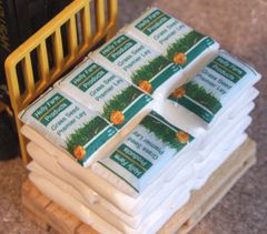 Grass Seed Sacks 1:32 Scale by HLT Miniatures