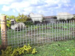 Superior Stock Sheep/Pig Fence/Fencing (60cms) 1:32 scale by HLT FB042