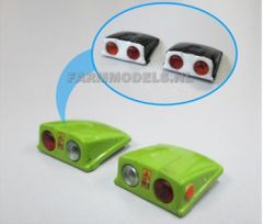 2 x Wheel Arch Lights 1:32 Scale by Artisan 32 (22121)
