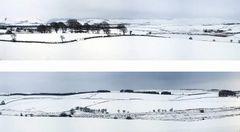 Winter Hills Snow 10ft Premium Backscene ID402 /95352