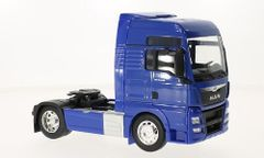 MAN TGX 4x2 Blue Truck Tractor Unit 1:32 Scale by Welly 32650-BL