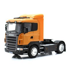 Scania R470 Orange Tractor Unit 1:32 Scale by Welly 32650-OR