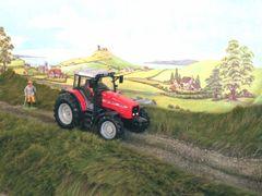 TM2 Long Grass Mat with Dirt Track by JG Miniatures