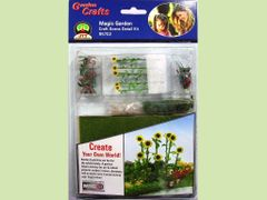 Flower Garden, Sunflowers Etc 1:32 Scale JTT95702