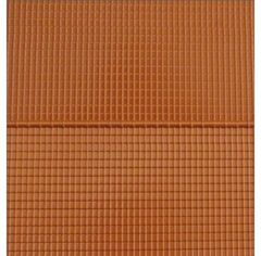 Roof and Ridge Tiles Sheet Red 1:32 Scale by Artisan32 93941 (05711)