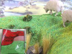 JS11 Dark Green Meadow Scatter Grass Any Scale by Javis