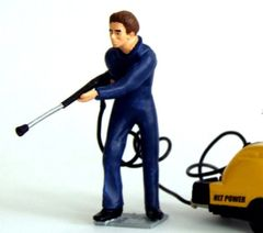 Power Washer Operator Figure by HLT 1:32 Scale WM049