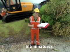 Works Inspector Farm/Construction Figure 1:32 Scale AT-Collections (Cat. No. 32142)