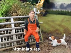 Excavator Operator Farm/Construction Figure 1:32 Scale AT-Collections (Cat. No. 32148)