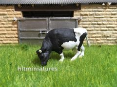Holstein Cow 'Grazing' (Unpainted Resin Casting) 1:32 Scale by HLT Miniatures FAB07
