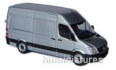 Marge Mercedes Benz Sprinter - Silver (MM1905-03)