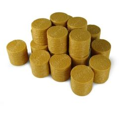 20 x Round Straw Bales in 1:32 scale by Universal Hobbies UH9750