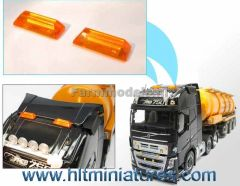 12.5x4mm Orange Rotating Beacons/Lights (2) 1:32 Scale 22350
