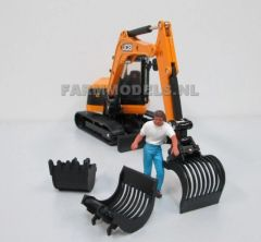 Excavator/Digger Stone Bucket Kit 1:32 Scale (Cat no. 60366)
