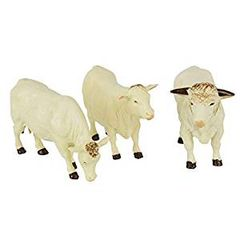 Charolais Cattle 1:32 Scale Animals by Britains 43240