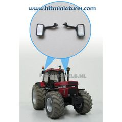 2 x Case IH 1455 Original Wing Mirrors for Tractors and Trucks 1:32 Scale by Artisan32 (Cat. No. 21165)